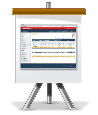Easel with SalesActivities.com Sales Board